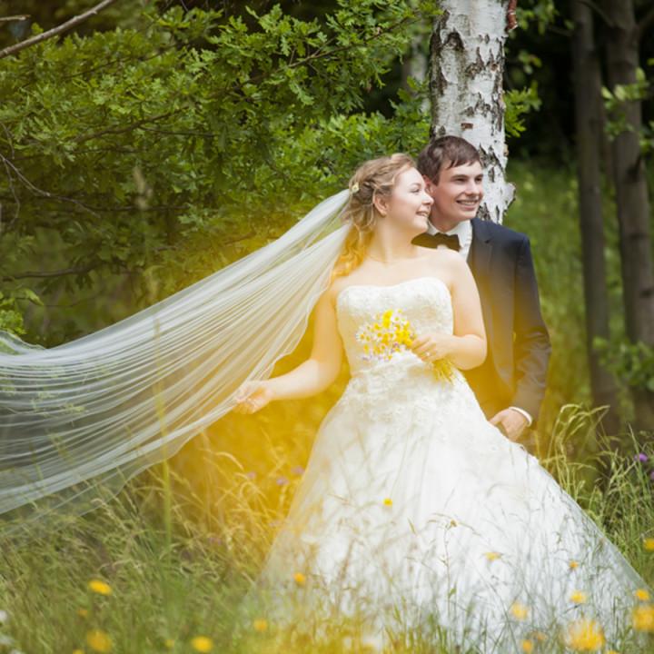 Die kirchliche Trauung von Rebekka & Sebastian